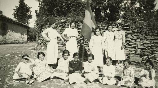Jóvenes retratadas en Villaño