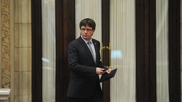 Carles Puigdemont cree que como con el «brexit», la UE se adaptaría a una Cataluña independiente