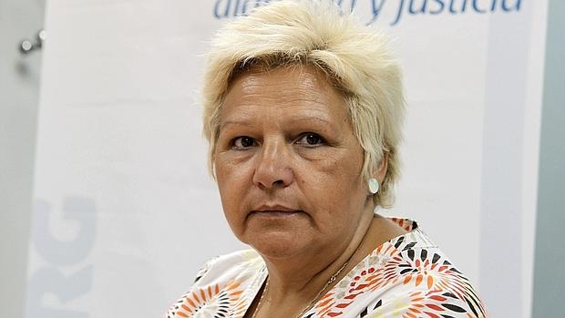 La presidenta de la Asociación Víctimas del Terrorismo (AVT), Ángeles Pedraza