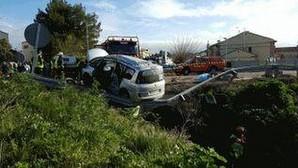 Muere un bebé recién nacido en un accidente de tráfico