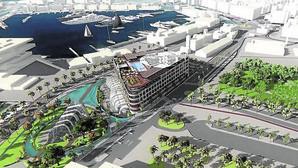 Figuración del hotel proyectado por ARC Resorts