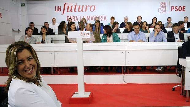 Susana Díaz ante el Comité Federal del PSOE