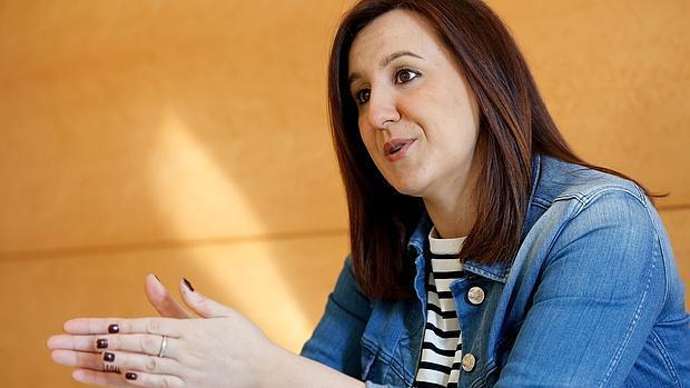 María José Català, en un momento de la entrevista