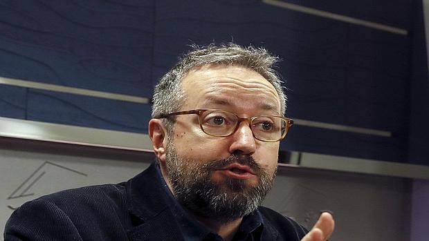 El portavoz de Ciudadanos, Juan Carlos Girauta