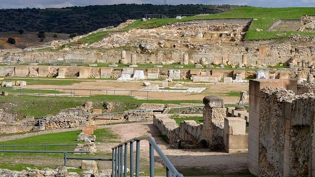 Parque arqueológico de Segóbriga, en Cuenca