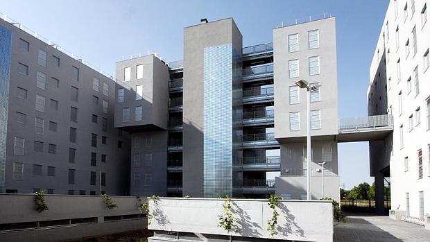 Promoción de viviendas Vicálvaro La Catalana, una de las últimas finalizadas por la EMVS