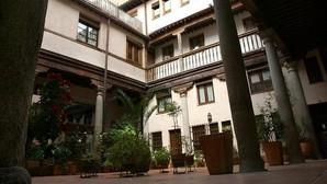 Un famoso patio toledano, situado en la plaza Amador de los Ríos