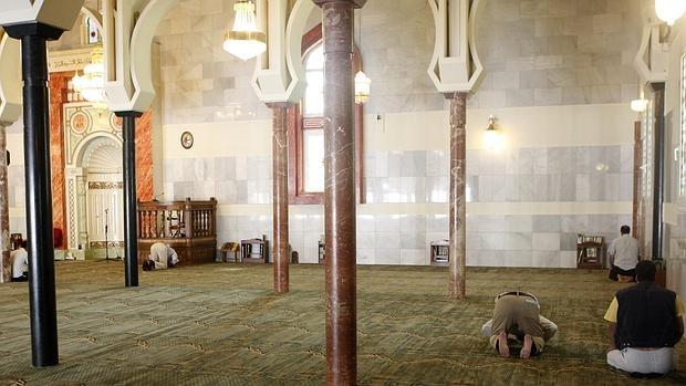 Interior del Centro Cultural Islámico de Madrid