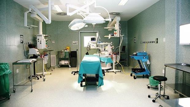 Quirófano de un hospital madrileño