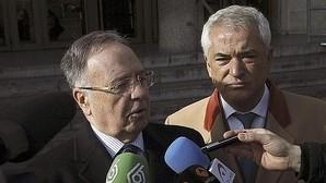 MIguel Bernad, secretario de Manos Limpias, y Luis Pineda, presidente de Ausbanc