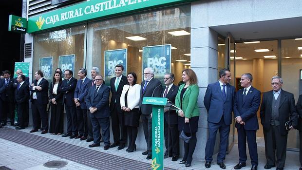 Caja rural inaugura nueva oficina en puertollano for Caja rural bilbao oficinas
