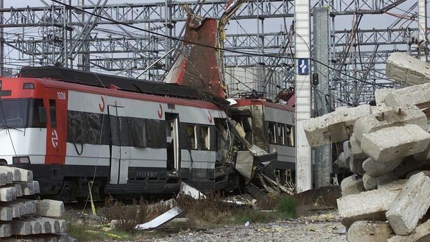 Uno de los trenes de las bombas de Téllez en los atentados del 11-M