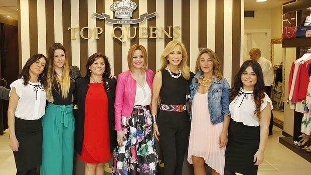 carmen lomana madrina de la nueva boutique top queens en