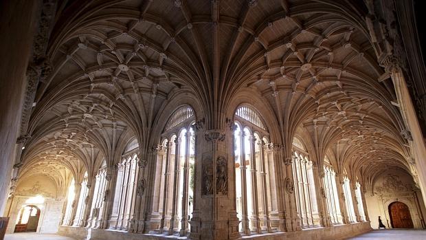 El llamado Claustro de los Reyes, en el Monasterio de San Esteban, en Salamanca