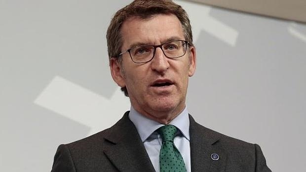 El presidente de Xunta y del PPdeG, Alberto Núñez Feijóo
