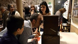 Exposición en el archivo municipal el año pasado, durante la «Noche Toledana»