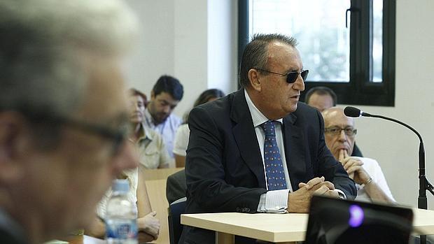Imagen de Carlos Fabra durante el juicio