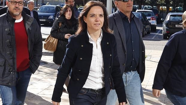 La alcaldesa de Getafe y secretaria general del PSOE-M, Sara Hernández