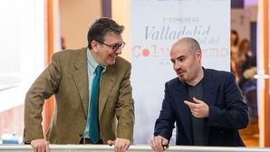 Ignacio Camacho, junto al columnista de «El Norte de Castilla», Jesús Nieto