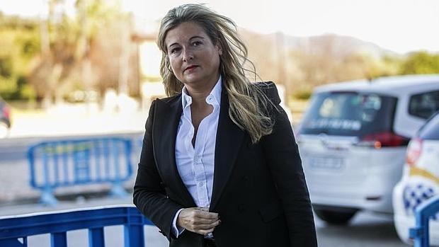 La abogada Virginia López, en Palma de Mallorca