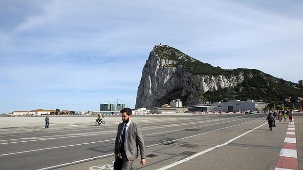 Una imagen de archivo del Peñón de Gibraltar