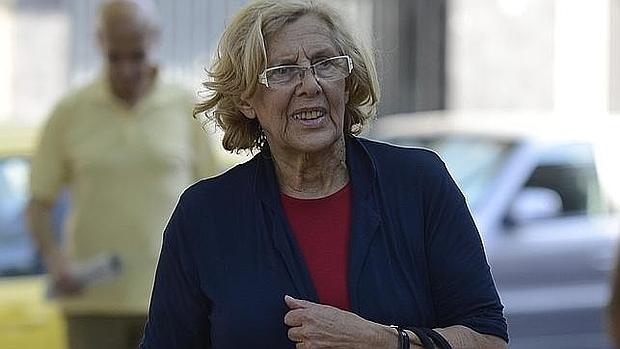 Manuiela Carmena, alcaldesa de Madrid