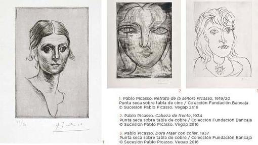 Exposición «Caja de remordimientos: Mujeres de Picasso» en Buitrago de Lozoya