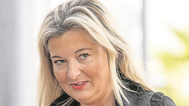 Virginia López, la pasada semana a su llegada al juicio del caso Nóos, en Palma de Mallorca