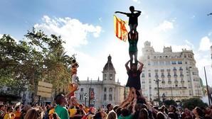 Imagen de la manifestación catalanista celebrada el pasado sábado en Valencia