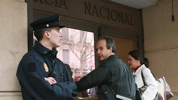 El exalcalde de Boadilla del Monte, Arturo González Panero, en la Audiencia Nacional
