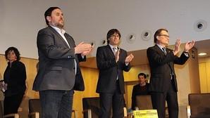 Junqueras, Puigdemont y Mas, en un imagen reciente