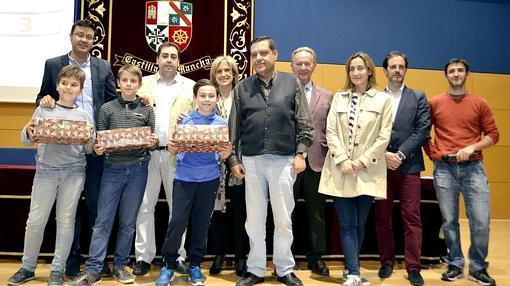 Los alumnos de Primaria galardonados