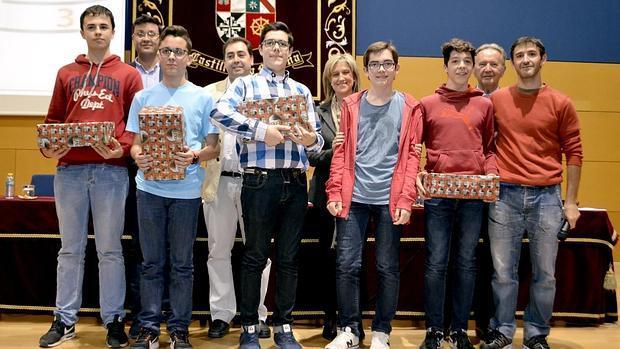 Los alumnos premiados en Secundaria