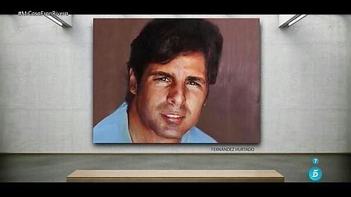 Retrato del torero Francisco Rivera