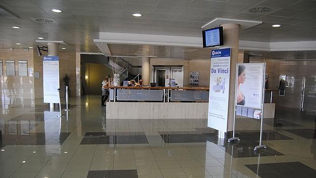 Instalaciones del Hospital Quirónsalud de Torrevieja.