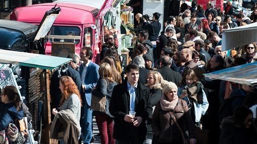 """Con """"Spain Eating Tour"""" Príncipe Pío se llena con 20 Food Trucks"""