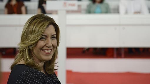 Susana Díaz despierta simpatías entre los barones del PSOE