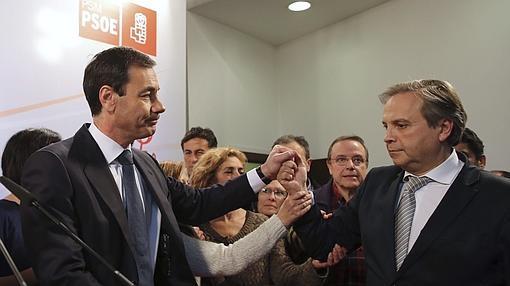 Gómez y Carmona, el sector crítico del PSOE de Madrid