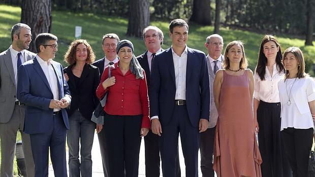 Sánchez en la presentación del Comité de Expertos el pasado 26 de junio en Madrid