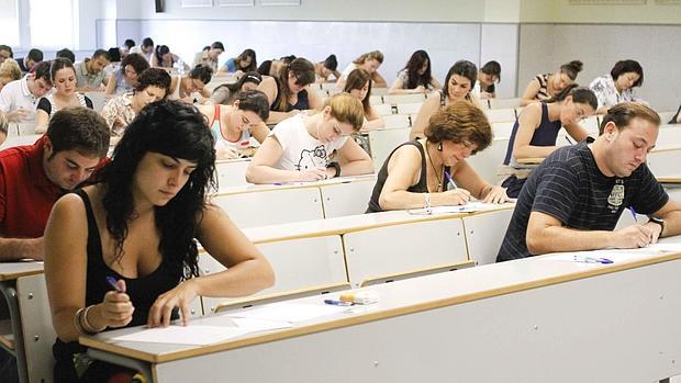 Resultado de imagen de oposiciones educacion examen