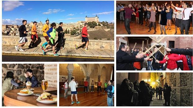 Bailar, correr, comer y disfrutar. Todo esto y mucho más se puede hacer en la ciudad de Toledo