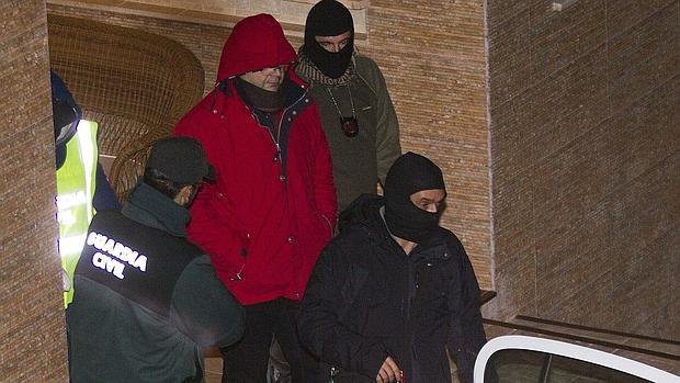 Romanov, detenido por la Guarcia Civil en su chalet de Mallorca en diciembre de 2013