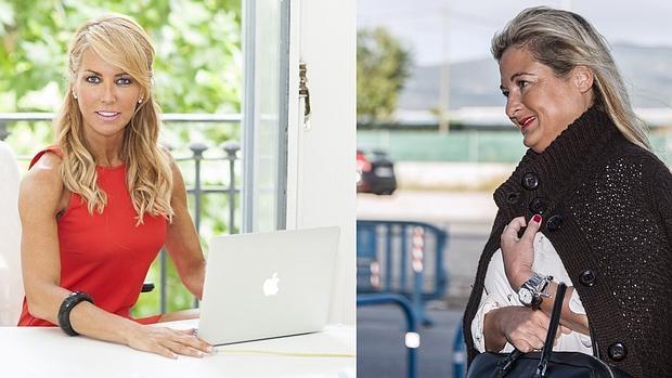 Las abogadas Montse Suárez y Virginia López Negrete