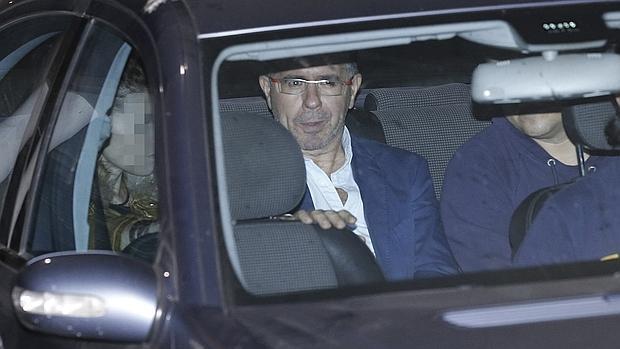 Francisco Granados, encarcelado por la Púnica