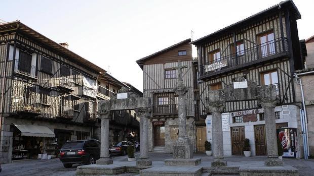 La localidad salmantina de La Alberca