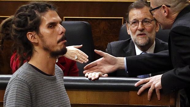 Alberto Rodriguez durante la sesión constitutiva del Congreso