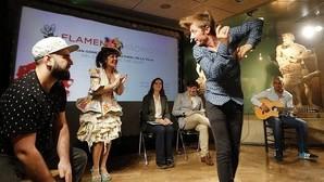 Artistas que actuarán en el festival Flamenco Madrid 2016, en la presentación del evento