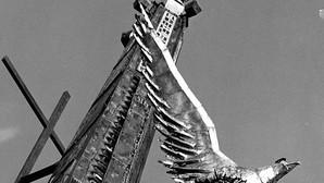 El monumento ha dividido el pueblo