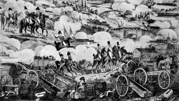 Recreación de la batalla de Vitoria