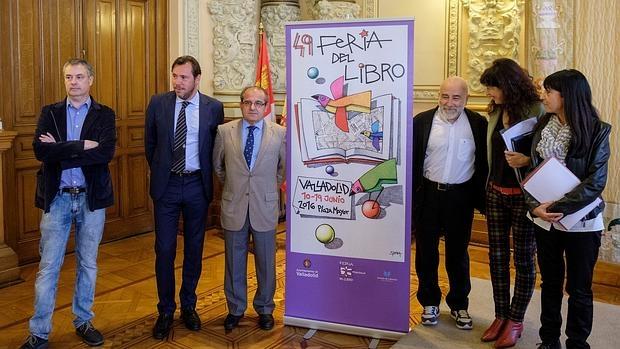 El alcalde Óscar Puente presentó ayer el programa de la Feria de Valladolid